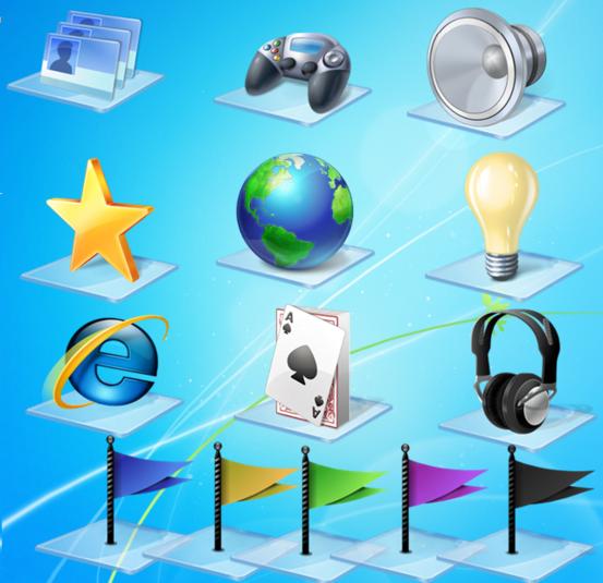Ikony Windows 7 Libraries pobierz - szybki, darmowy download : pliki.net.pl